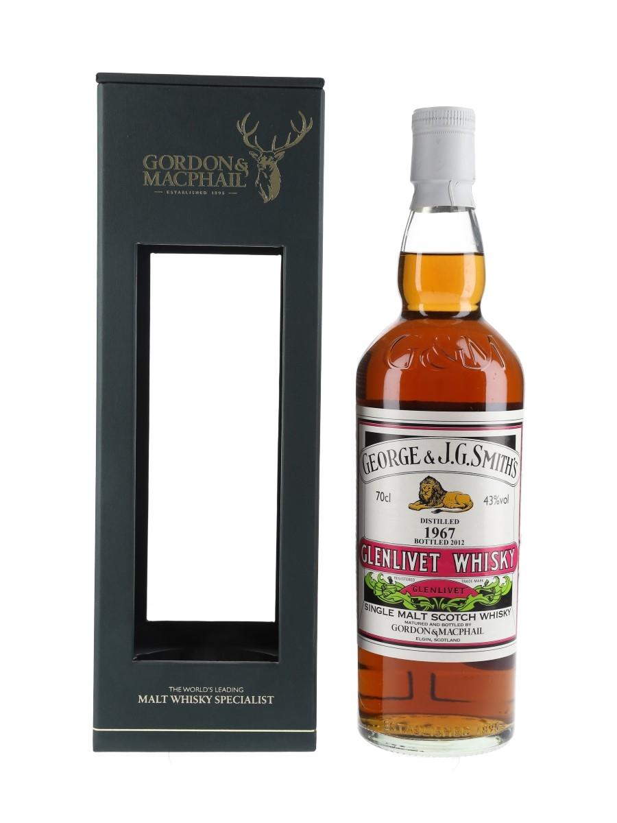 Glenlivet 1967 Bottled 2012 - Gordon & MacPhail 70cl / 43%