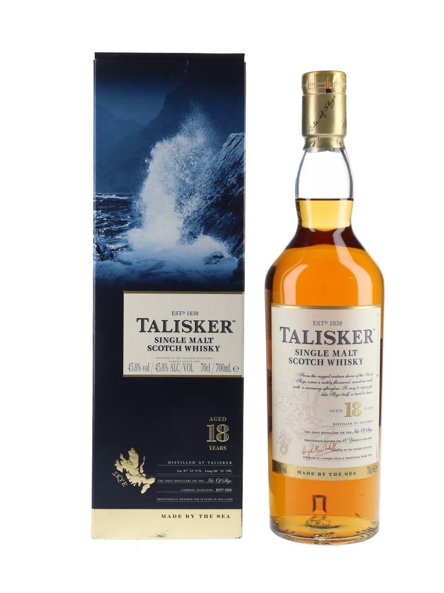 Talisker 18 Year Old  70cl / 45.8%