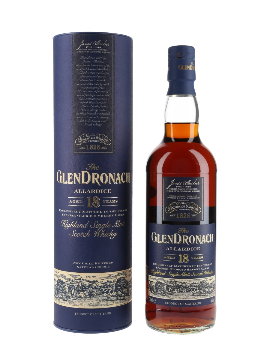 Glendronach 18 Year Old Allardice Bottled 2013 70cl / 46%