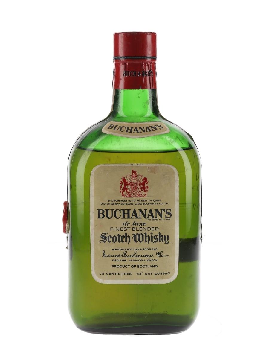 Buchanan's De Luxe Bottled 1970s 75cl / 43%