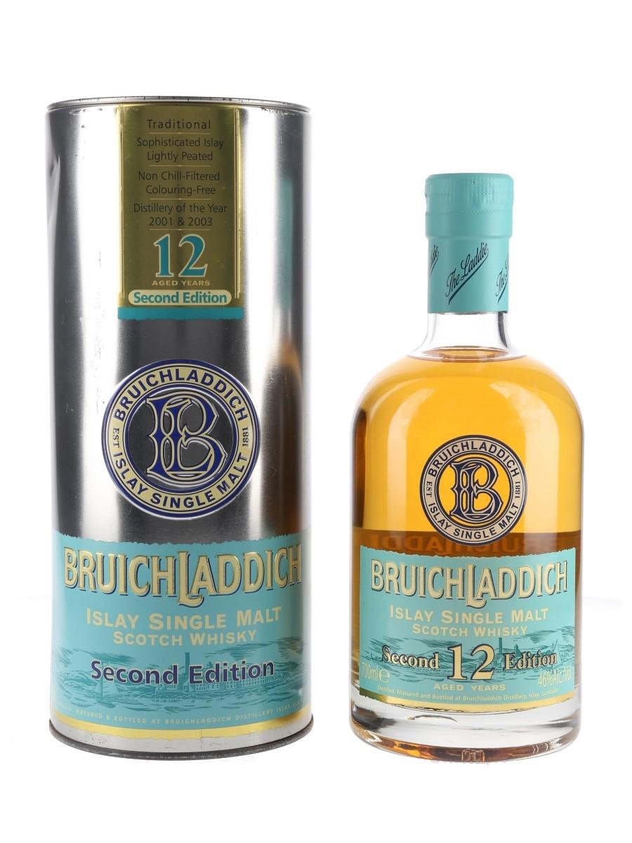 Bruichladdich 12 Year Old 2nd Edition 70cl / 46%