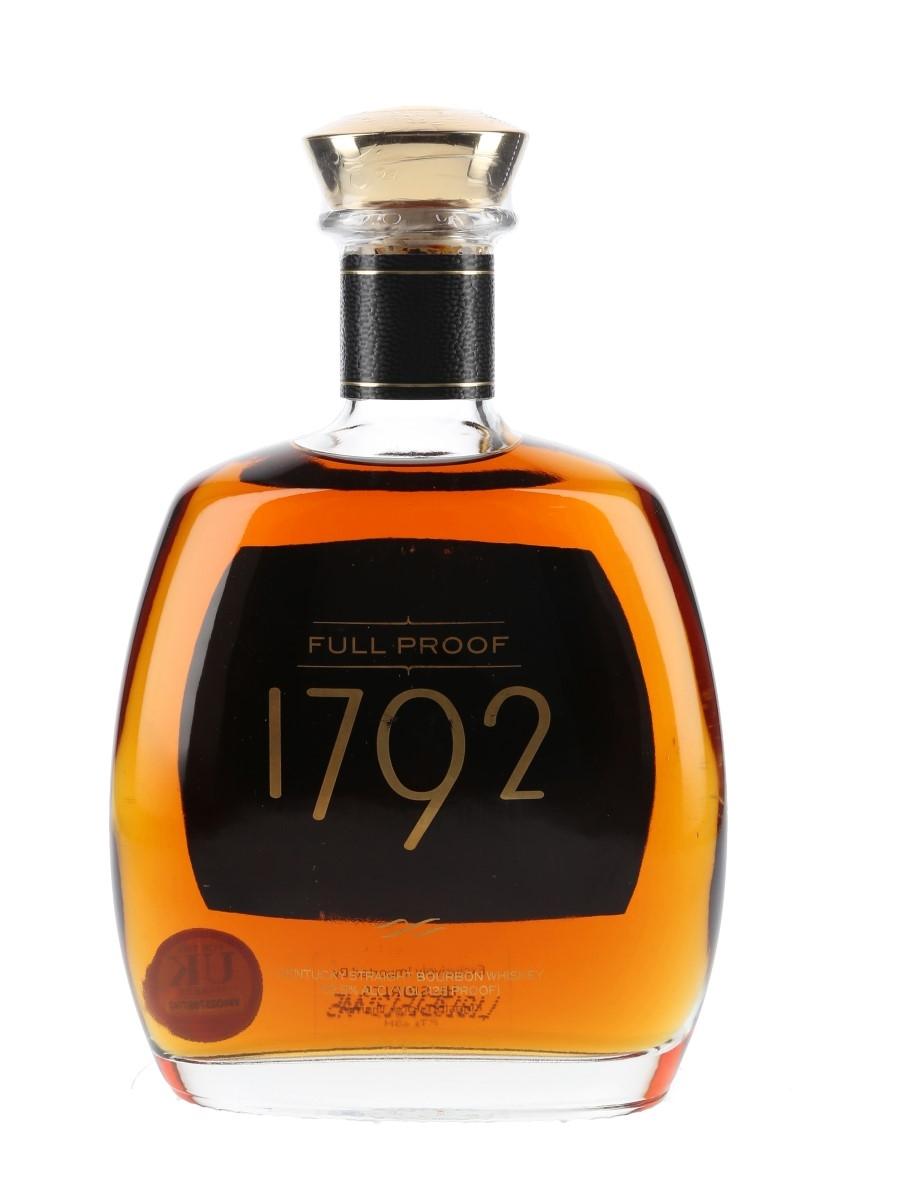 Barton 1792 Full Proof Bottled 2018 75cl / 62.5%