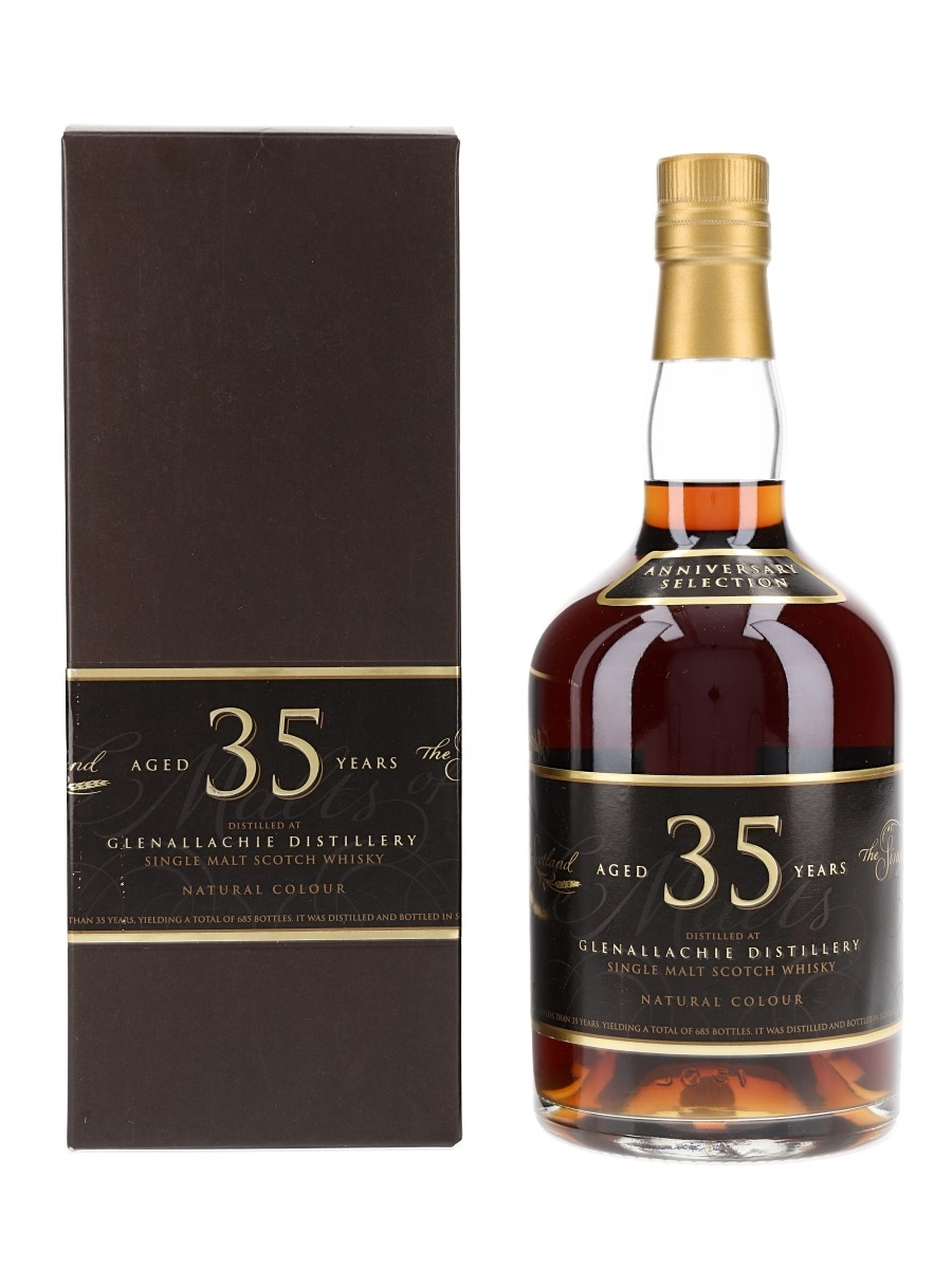Glenallachie 35 Year Old Single Malts Of Scotland Anniversary Selection 70cl / 46.9%