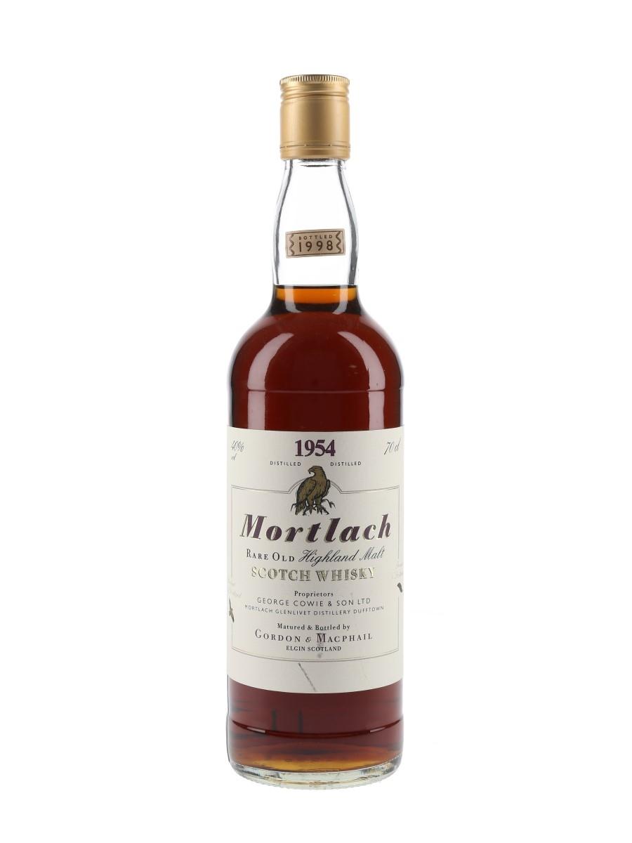 Mortlach 1954 Bottled 1998 - Gordon & MacPhail 70cl / 40%