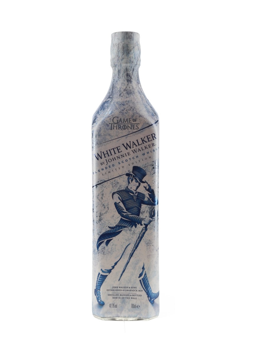 Johnnie Walker White Walker Bottled 2018 - Game Of Thrones 70cl / 41.7%