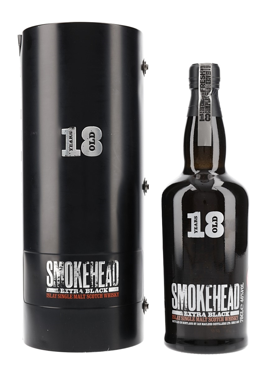 Smokehead 18 Year Old Extra Black Ian Macleod Distillers 70cl / 46%