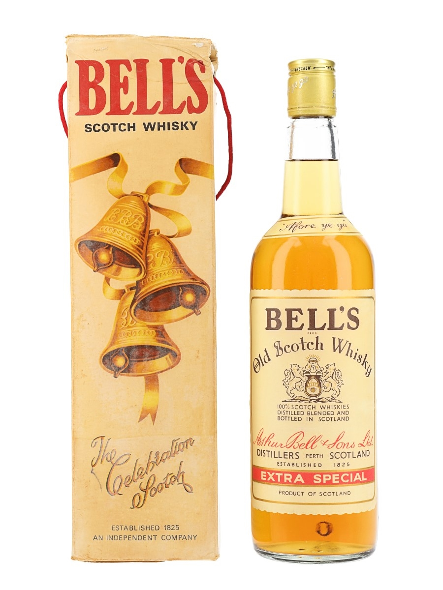 Bell's Extra Special Bottled 1970s - Duty Free 75.7cl / 43%