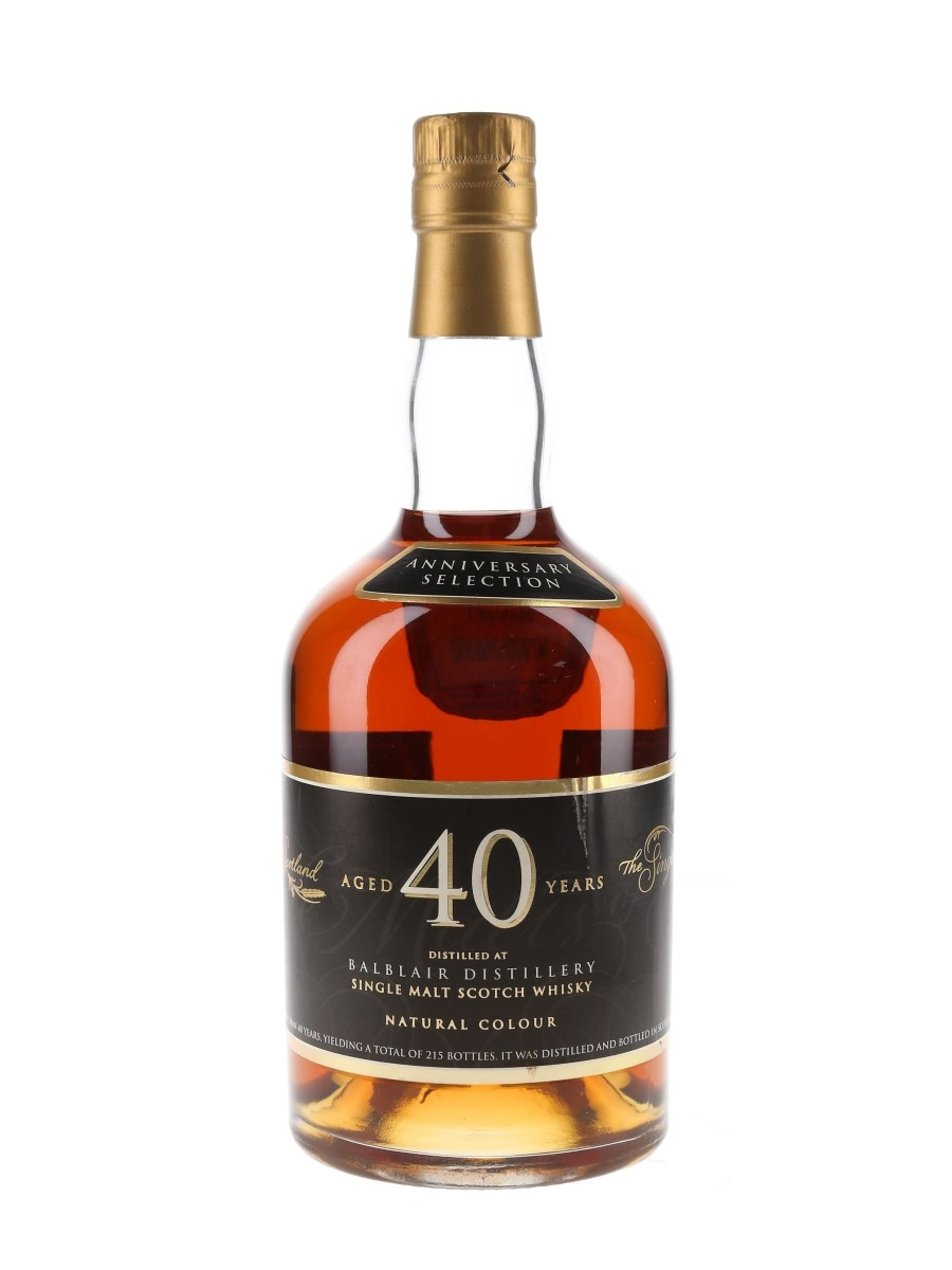 Balblair 40 Year Old The Single Malts Of Scotland Anniversary Selection 70cl / 47.7%