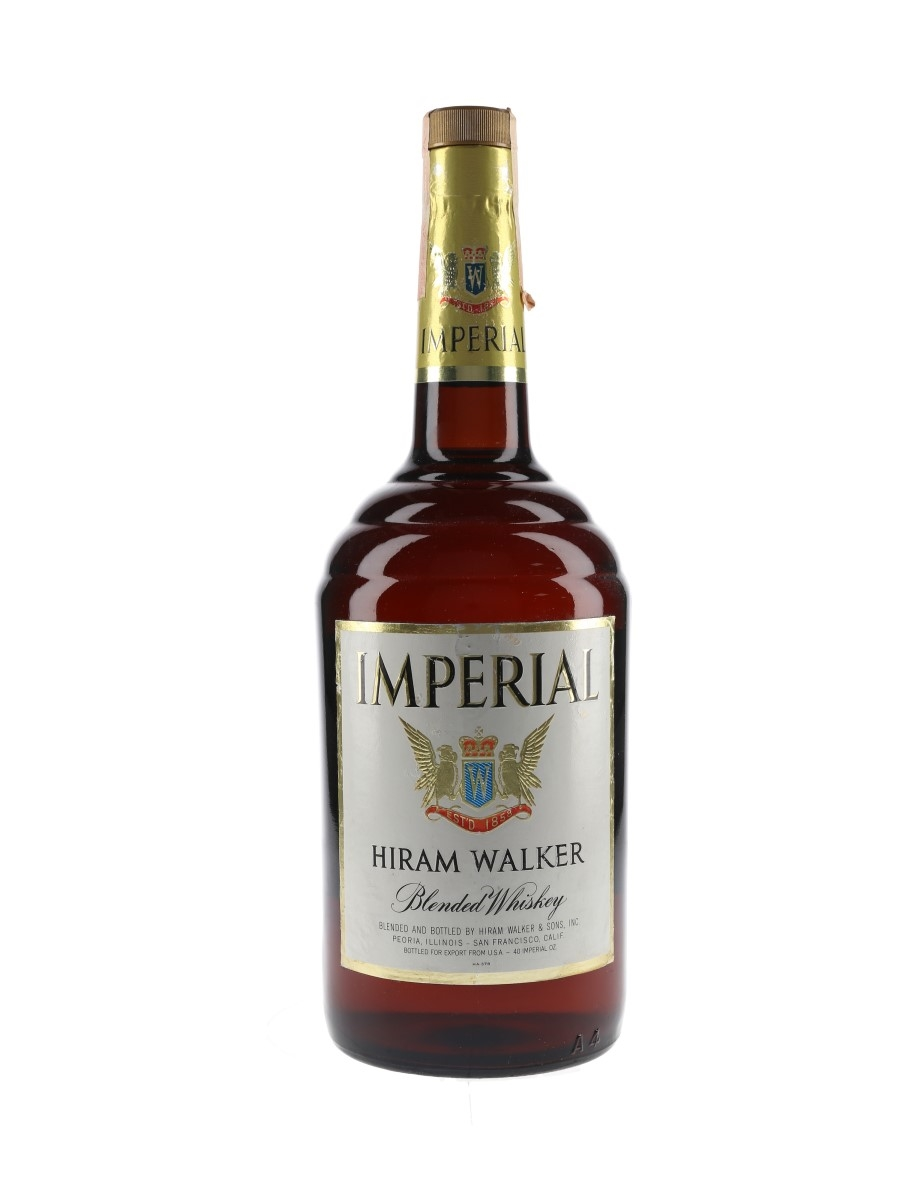 Hiram Walker Imperial Bottled 1970s 118cl