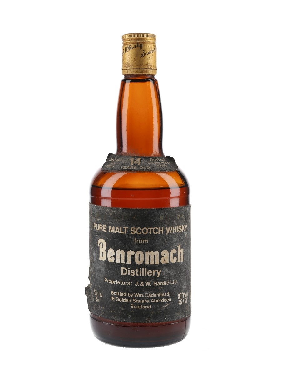 Benromach 1965 14 Year Old Bottled 1979 - Cadenhead 'Dumpy' 75cl / 45.7%