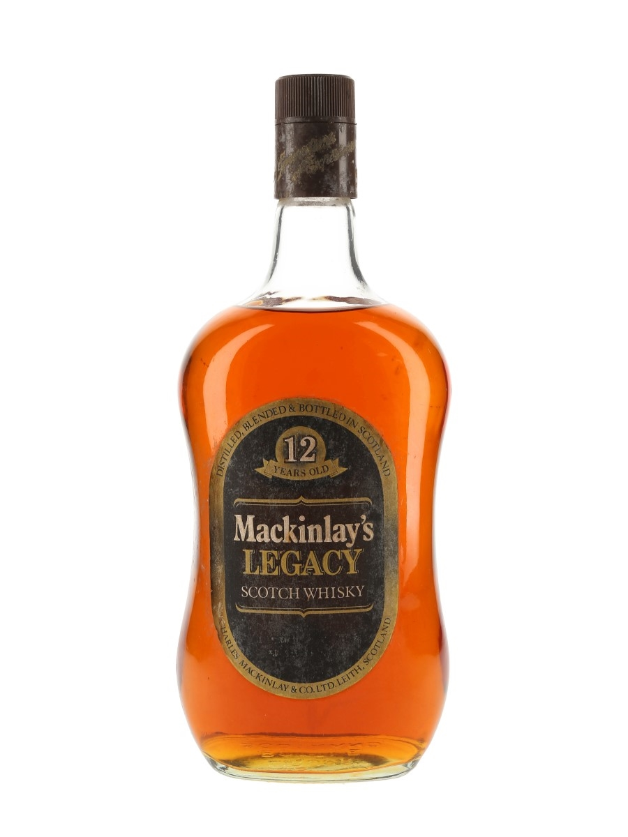 Mackinlay's Legacy 12 Year Old Bottled 1980s 100cl / 40%