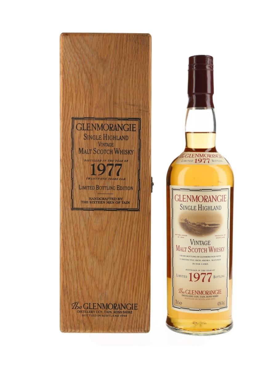 Glenmorangie Vintage 1977 21 Year Old  70cl / 43%