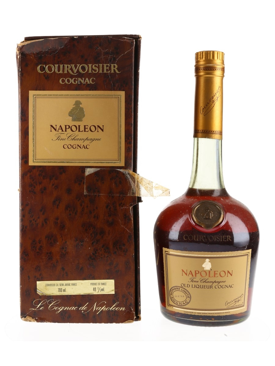 Courvoisier Napoleon Bottled 1980s - Numbered Bottle 70cl / 40%