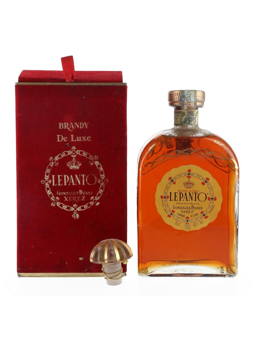 Lepanto Solera Gran Reserva Brandy De Jerez - Gonzalez Byass 75cl / 40%