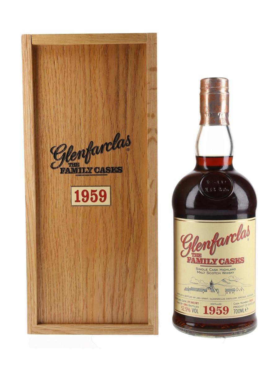 Glenfarclas 1959 The Family Casks Bottled 2007 70cl / 52.5%