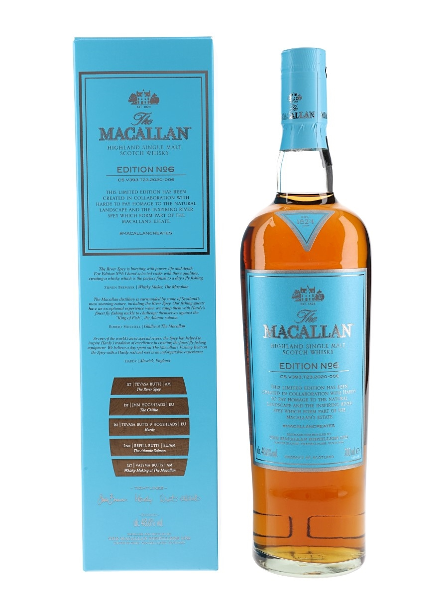 Macallan Edition No.6  70cl / 48.6%