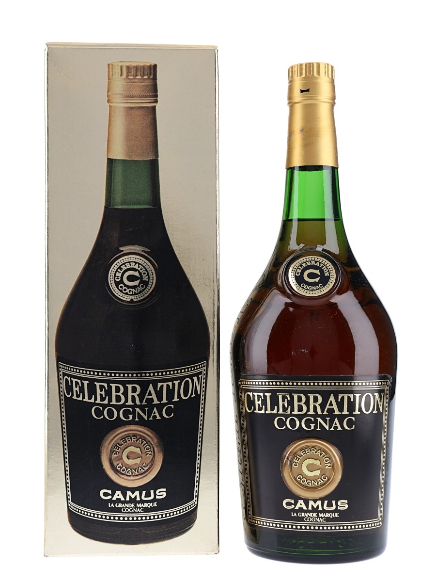Camus Celebration Cognac Bottled 1970s-1980s 70cl