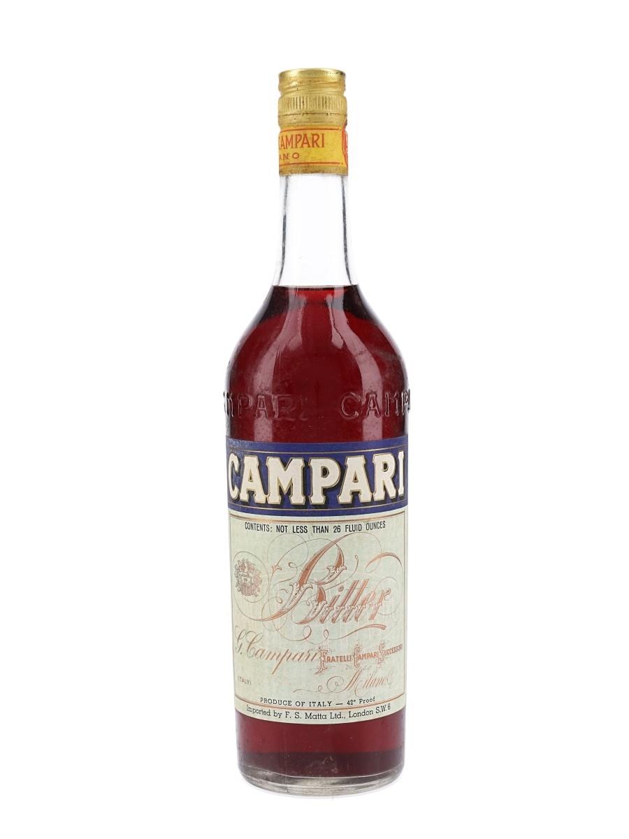 Campari Bitter Bottled 1970s - Matta 73.8cl / 24%