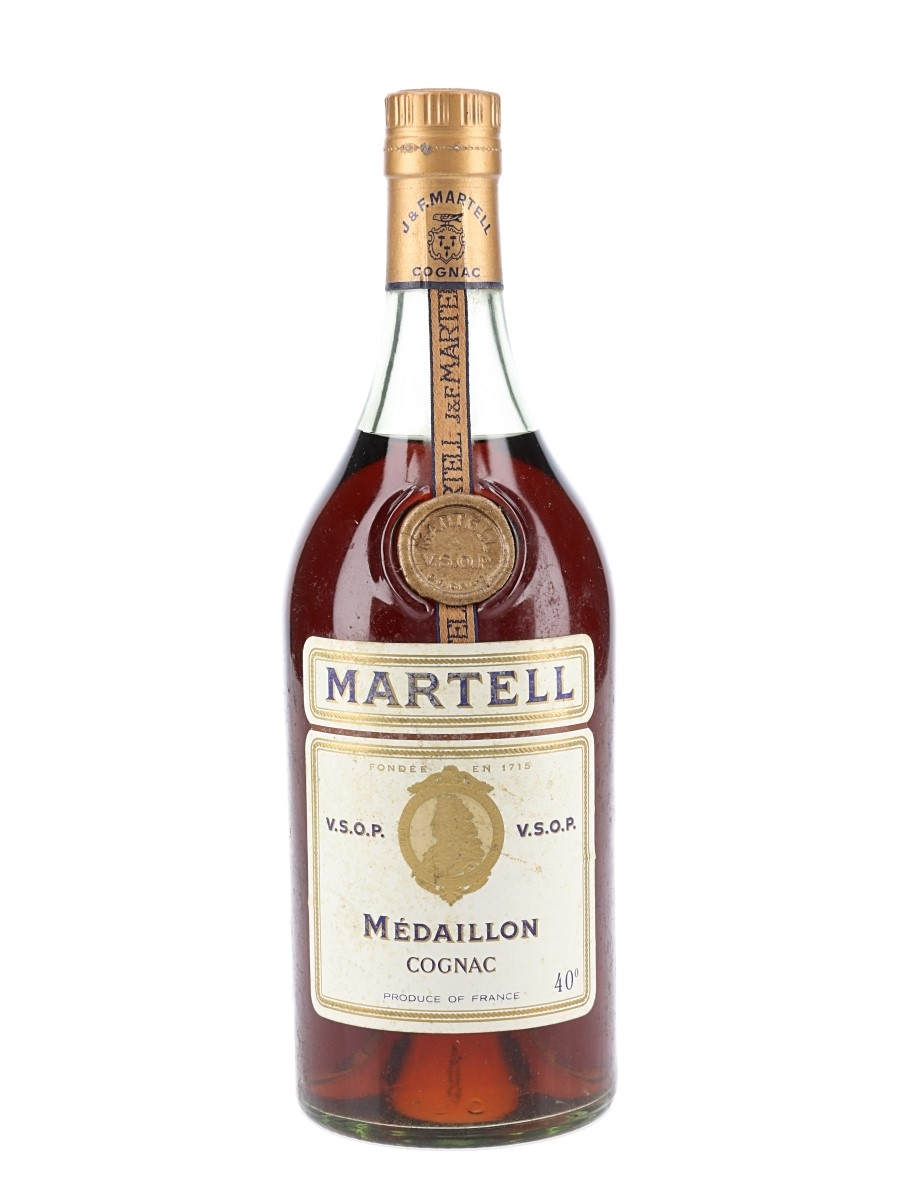 Martell Medaillon VSOP Bottled 1970s 70cl / 40%
