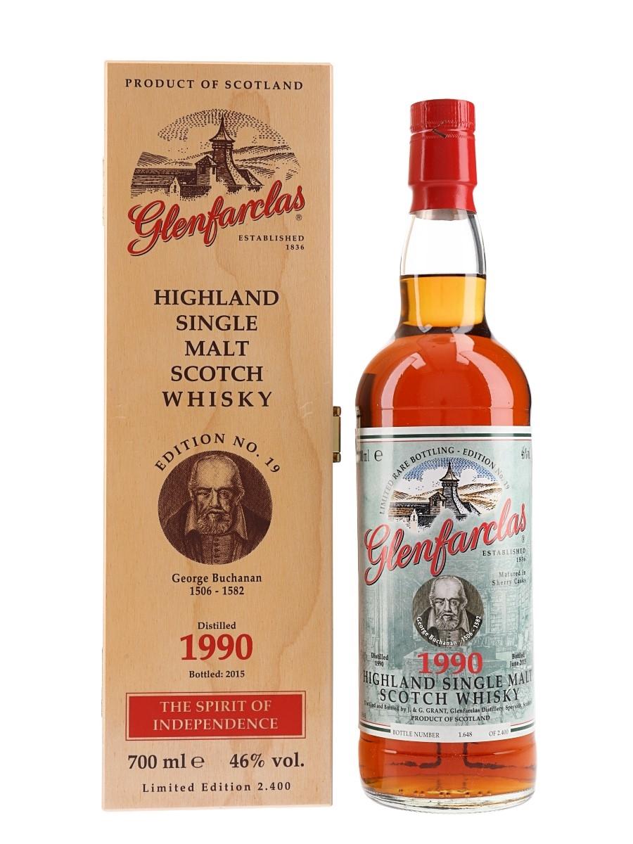 Glenfarclas 1990 George Buchanan Edition No. 19 Bottled 2015 - German Release 70cl / 46%