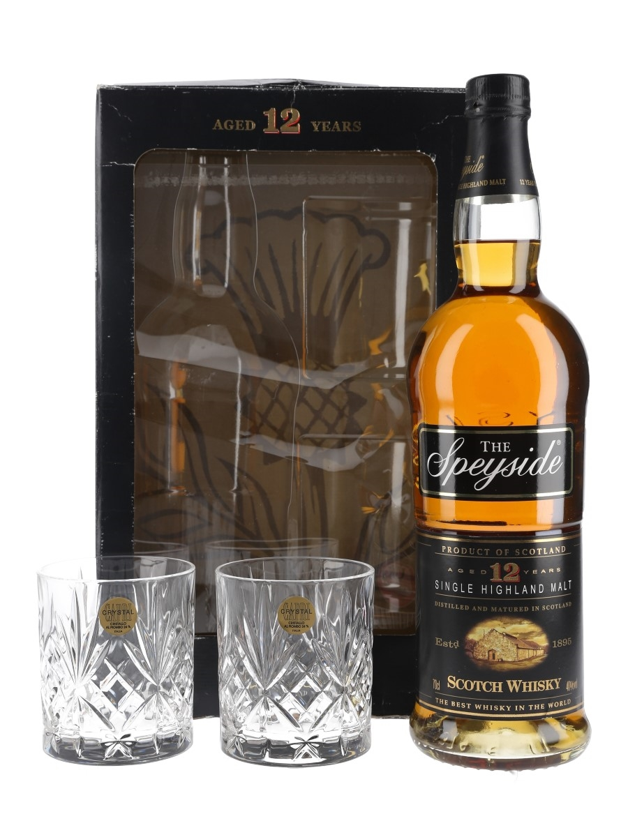 The Speyside 12 Year Old Glass Pack  70cl / 40%