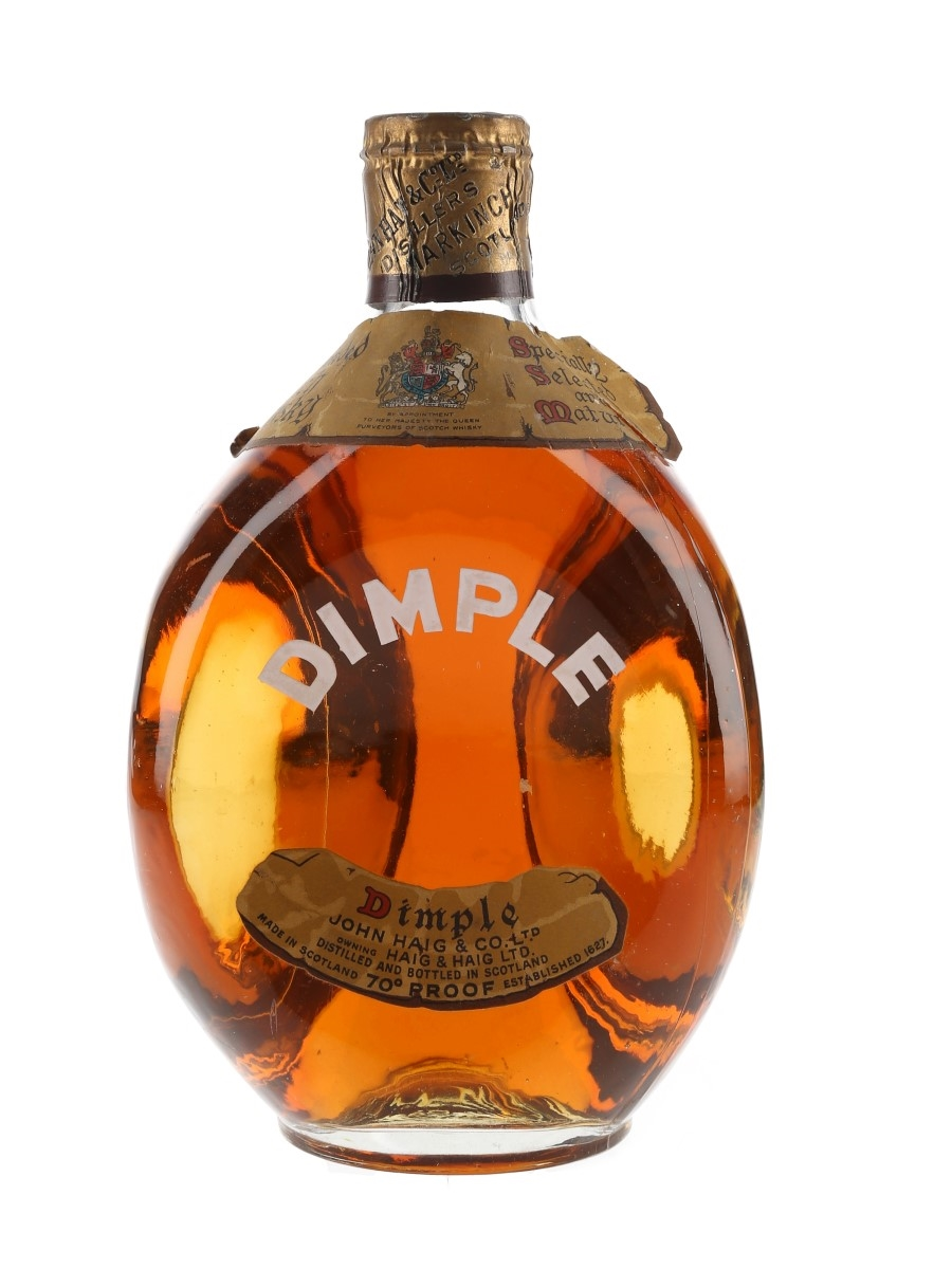 Haig's Dimple Spring Cap Bottled 1960s 75.7cl / 40%