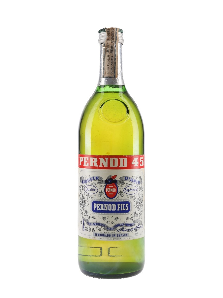 Pernod 45 Bottled 1970s 100cl / 45%