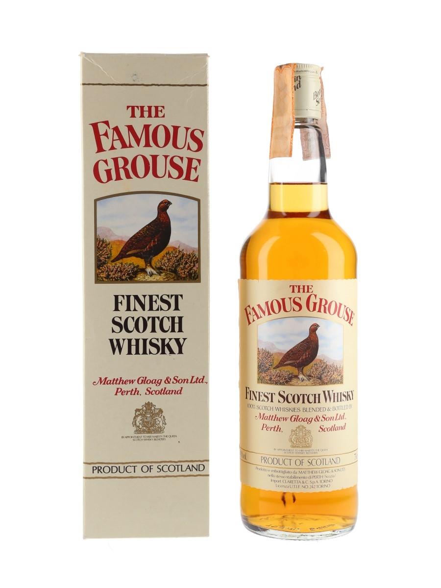 Famous Grouse Bottled 1980s - Claretta 75cl / 40%