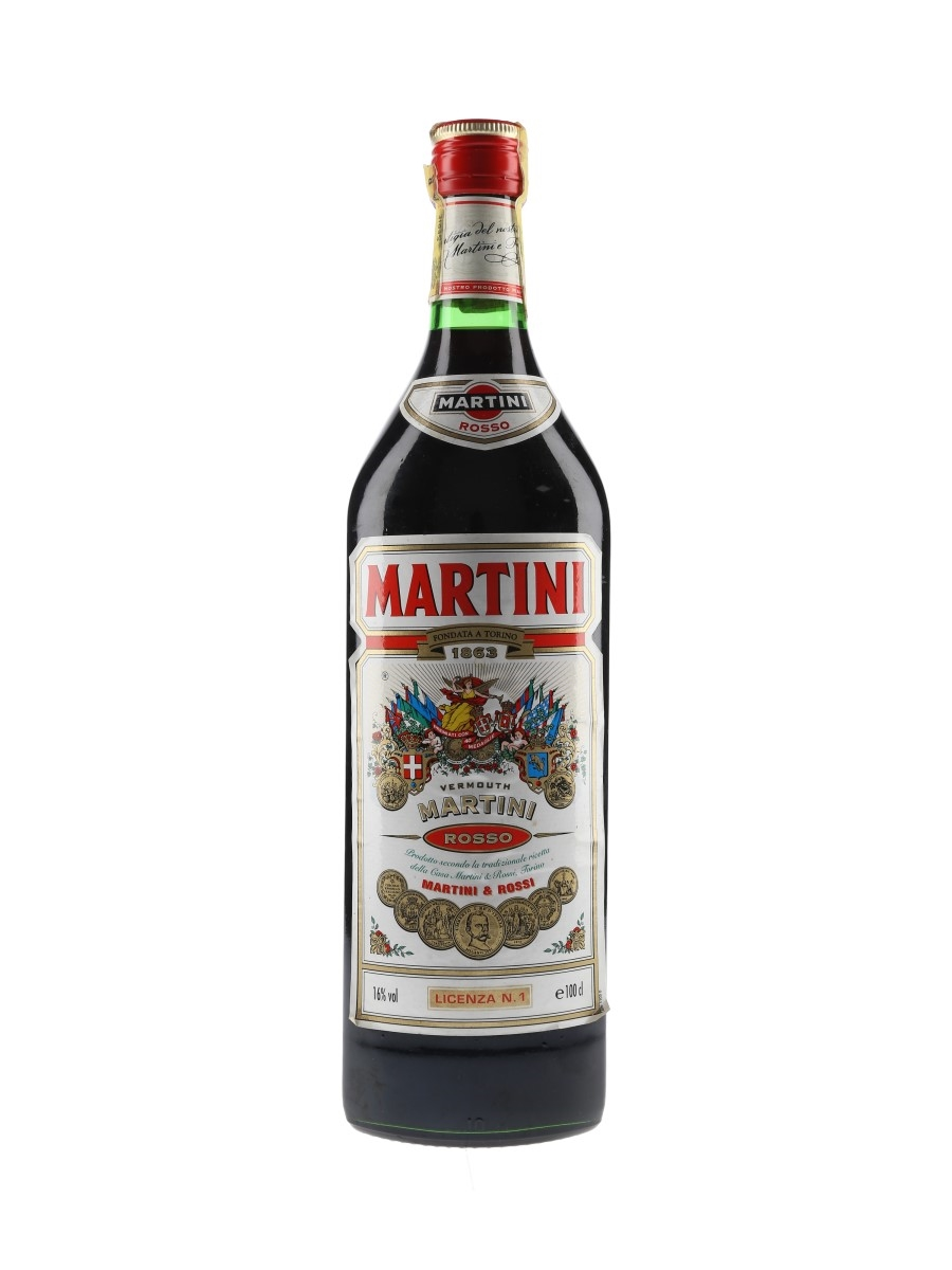 Martini Rosso Vermouth Bottled 1980s-1990s 100cl / 16%