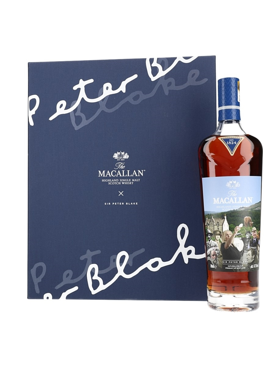 Macallan: An Estate, A Community And A Distillery & Sir Peter Blake Notelets Anecdotes Of Ages - Sir Peter Blake 70cl / 47.7%