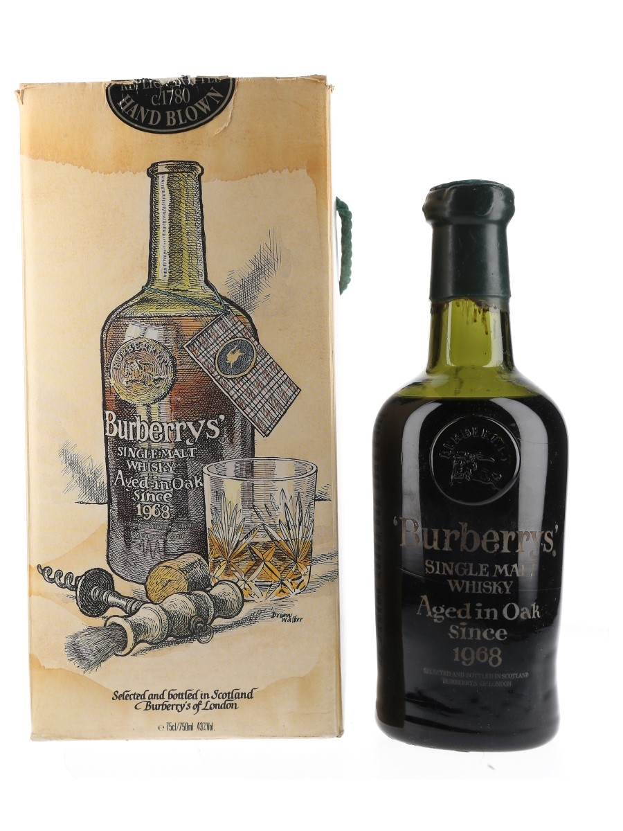 Burberry's 1968 20 Year Old Bottled 1980s 75cl / 43%