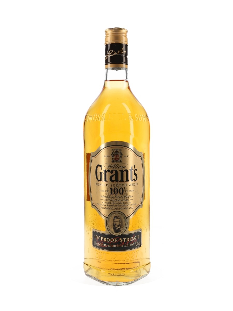 Grant's 100 Proof  100cl / 50%