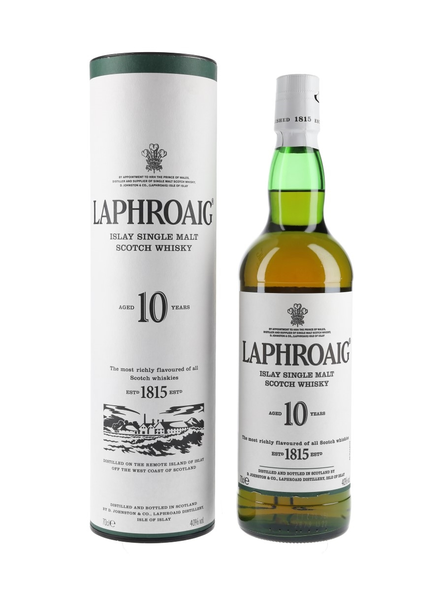 Laphroaig 10 Year Old  70cl / 40%