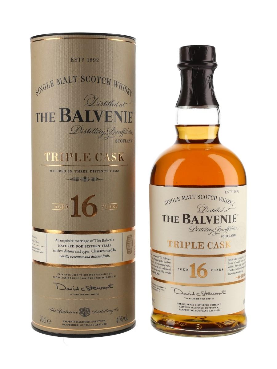 Balvenie 16 Year Old Triple Cask  70cl / 40%