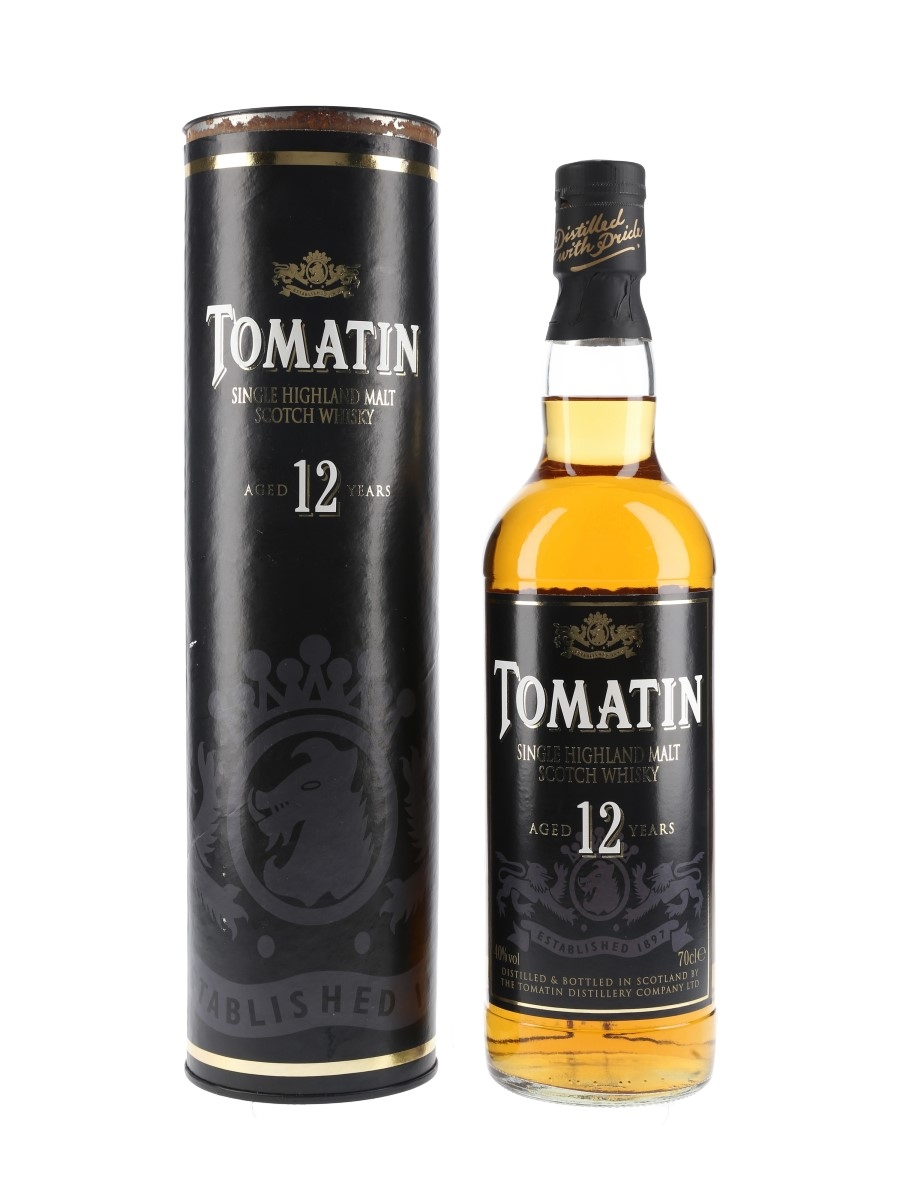 Tomatin 12 Year Old Bottled 1990s-2000s 70cl / 40%