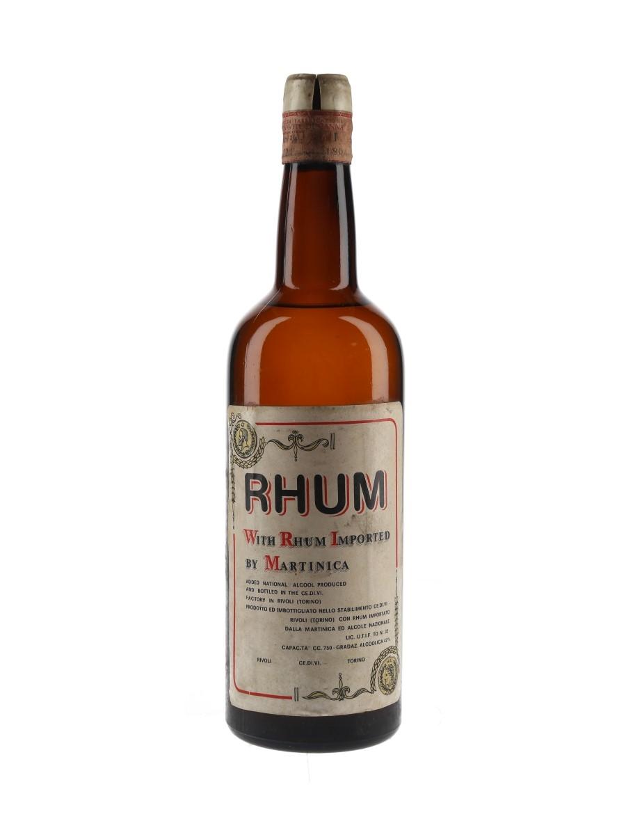 CE.DI.VI. Rhum Bottled 1970s 75cl / 42%