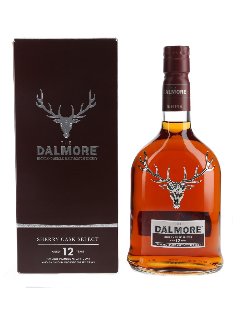 Dalmore 12 Year Old Sherry Cask Select  70cl / 43%