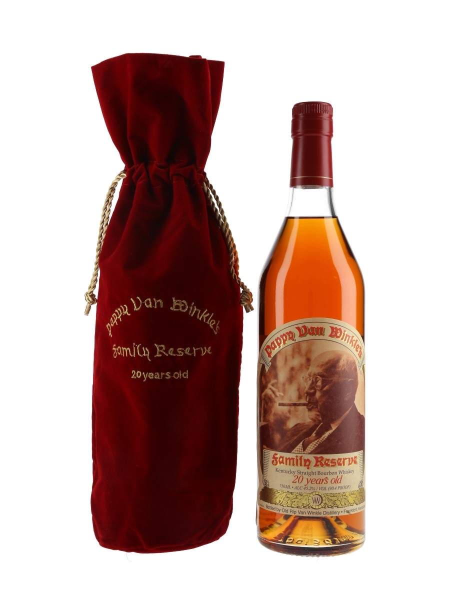 Pappy Van Winkle's 20 Year Old Family Reserve Bottled 2020 - Frankfort 75cl / 45.2%