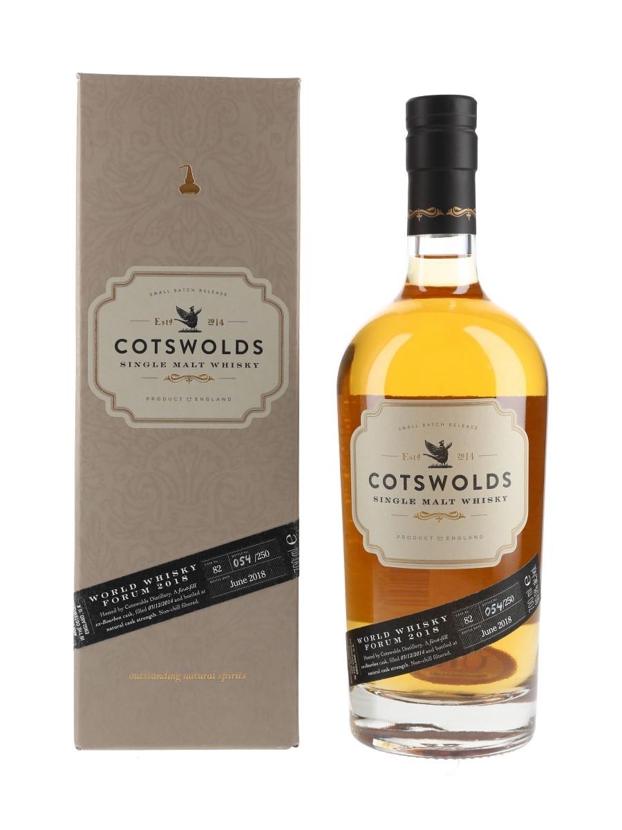 Cotswolds 2014 Cask #82 Bottled 2018 - World Whisky Forum 70cl / 60.5%