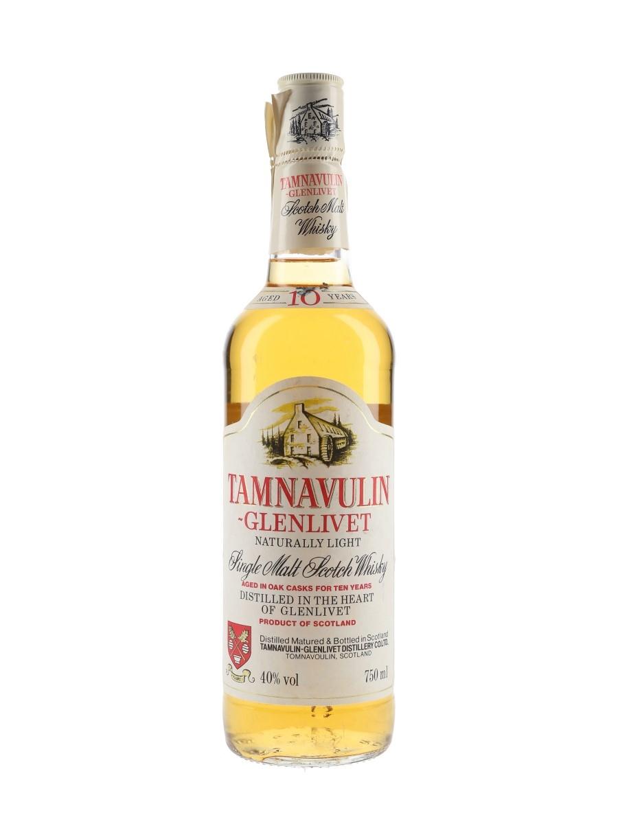 Tamnavulin Glenlivet 10 Year Old Bottled 1980s 75cl / 40%