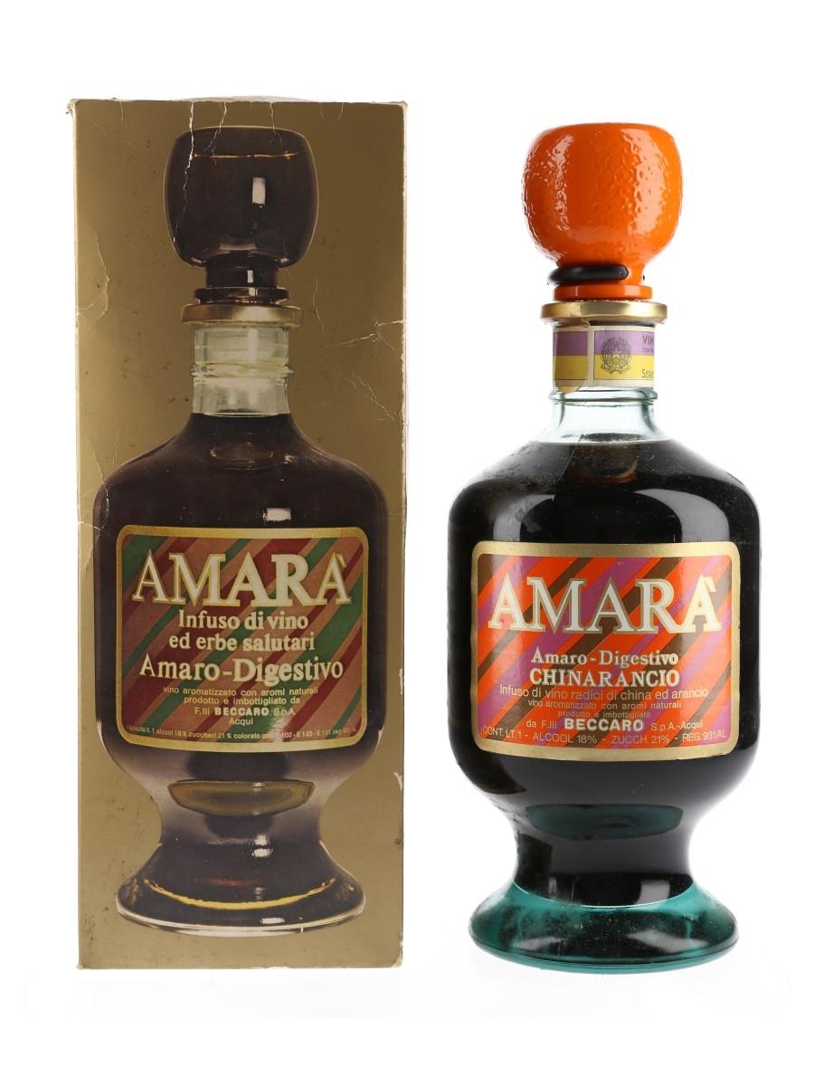 Beccaro Amara Chinarancio Bottled 1970s 100cl / 18%
