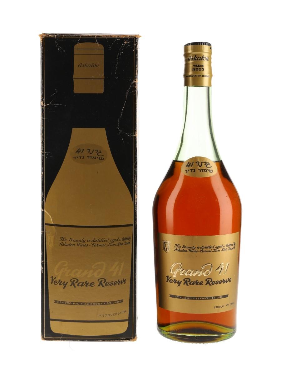 Grand 41 Brandy Very Rare Reserve - Askalon Wines 75cl / 41%