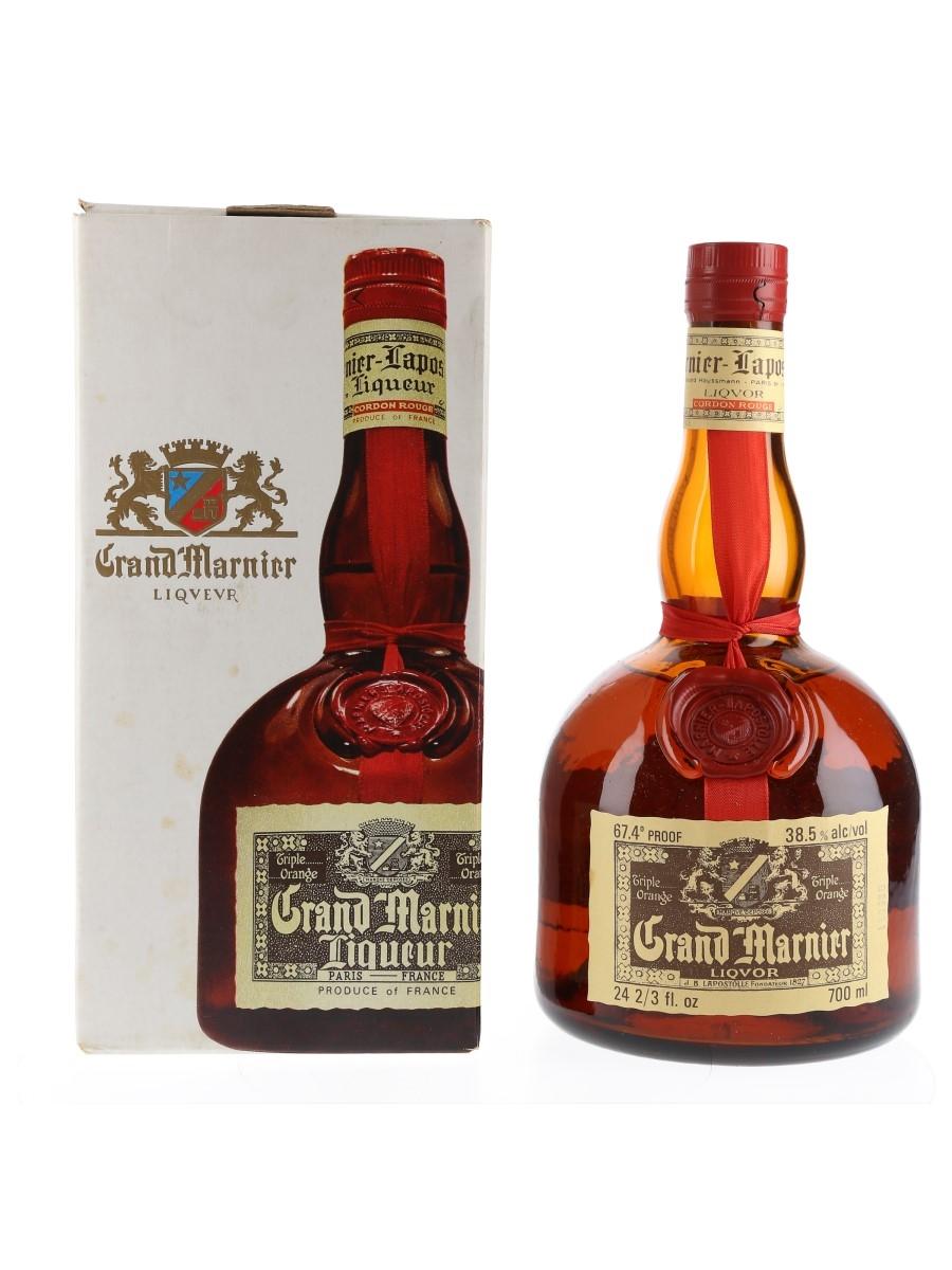 Grand Marnier Cordon Rouge Bottled 1970s-1980s 70cl / 38.5%