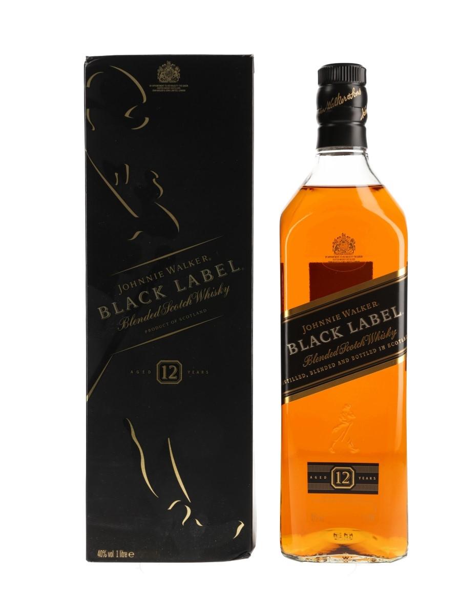 Johnnie Walker Black Label 12 Year Old  100cl / 40%