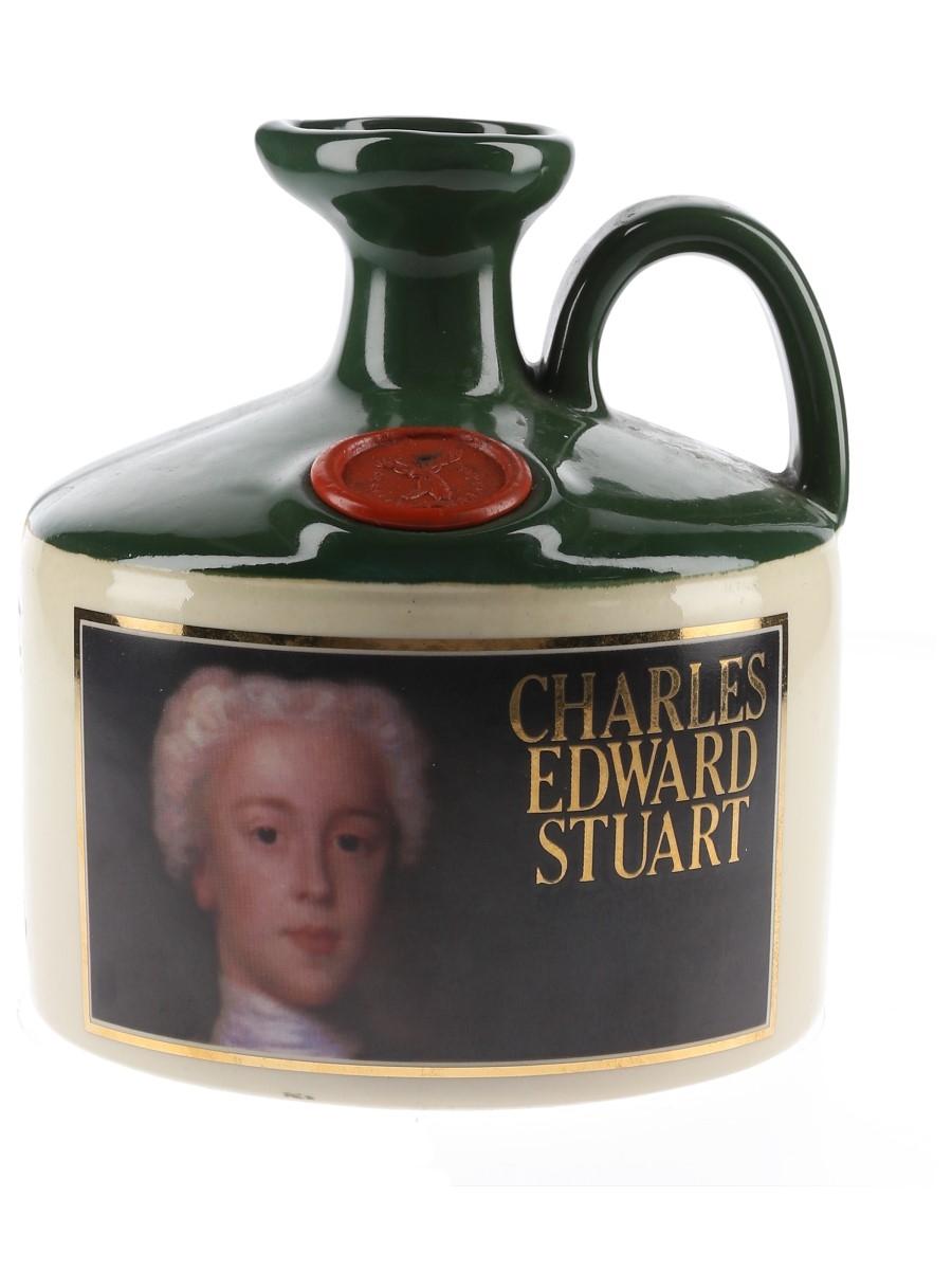 Glenfiddich Scottish Royalty Ceramic Jug Charles Edward Stuart 75cl / 40%