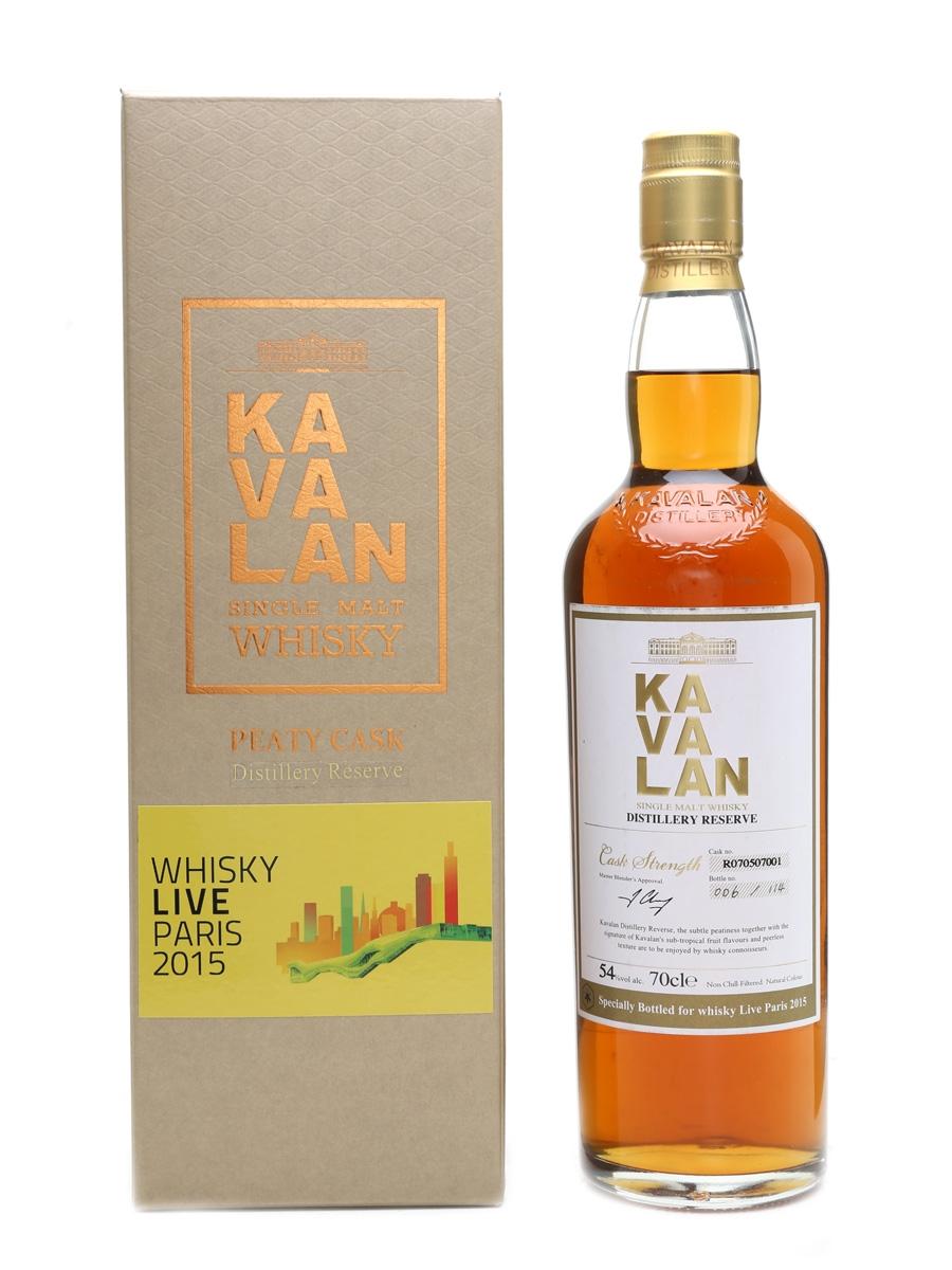 Kavalan Peaty Cask Distillery Reserve Whisky Live Paris 2015 70cl / 54%