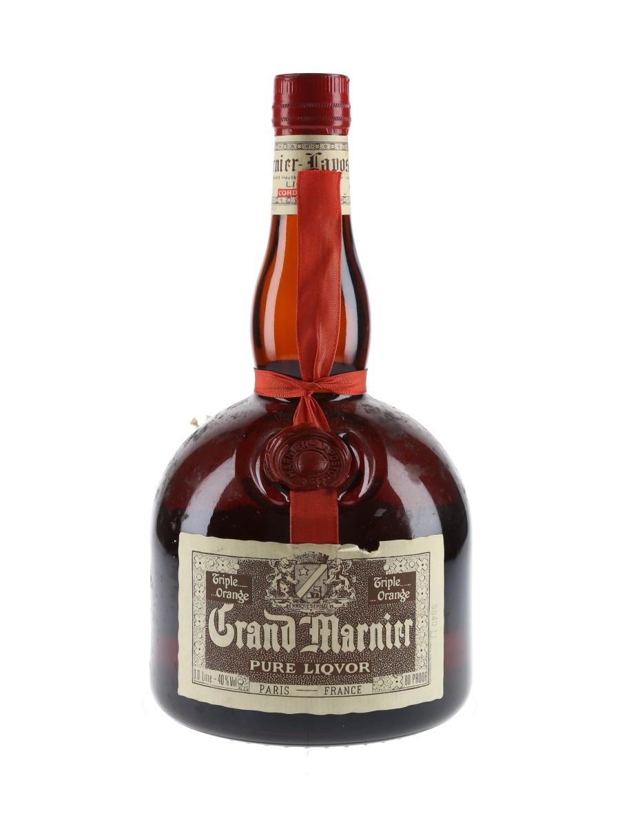 Grand Marnier Cordon Rouge Bottled 1980s 100cl / 40%