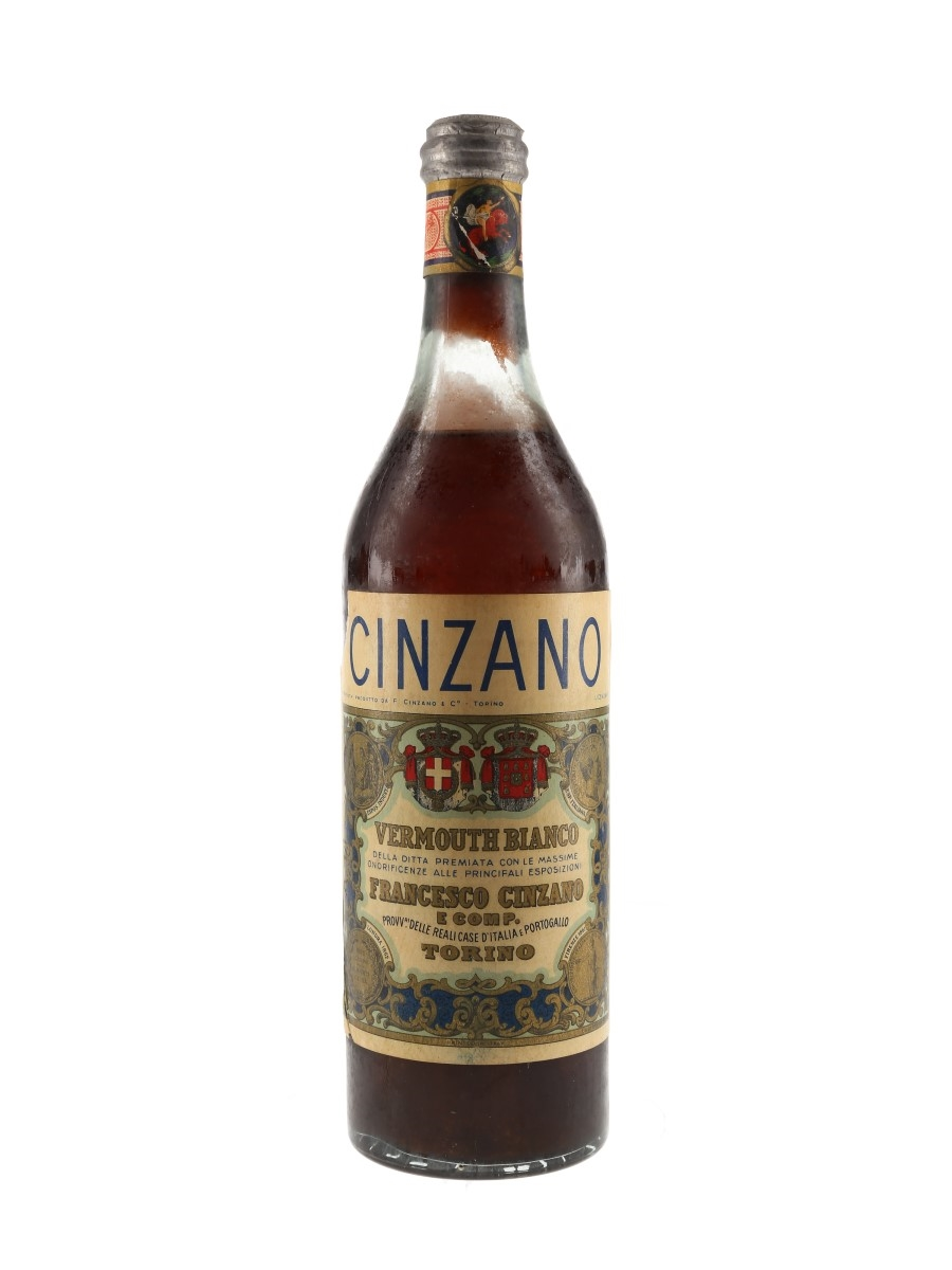 Cinzano Bianco Bottled 1950s 100cl