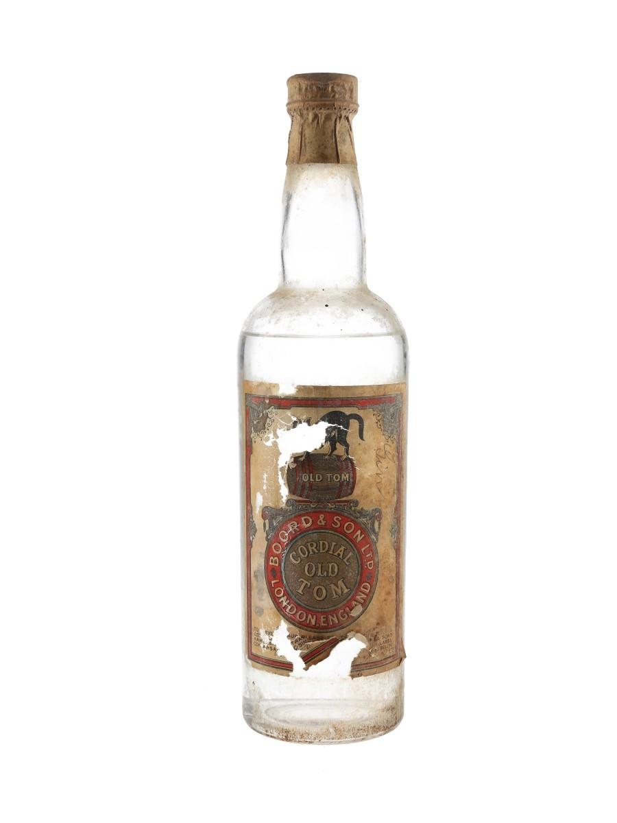 Boord Old Tom Gin Bottled 1950s 100cl