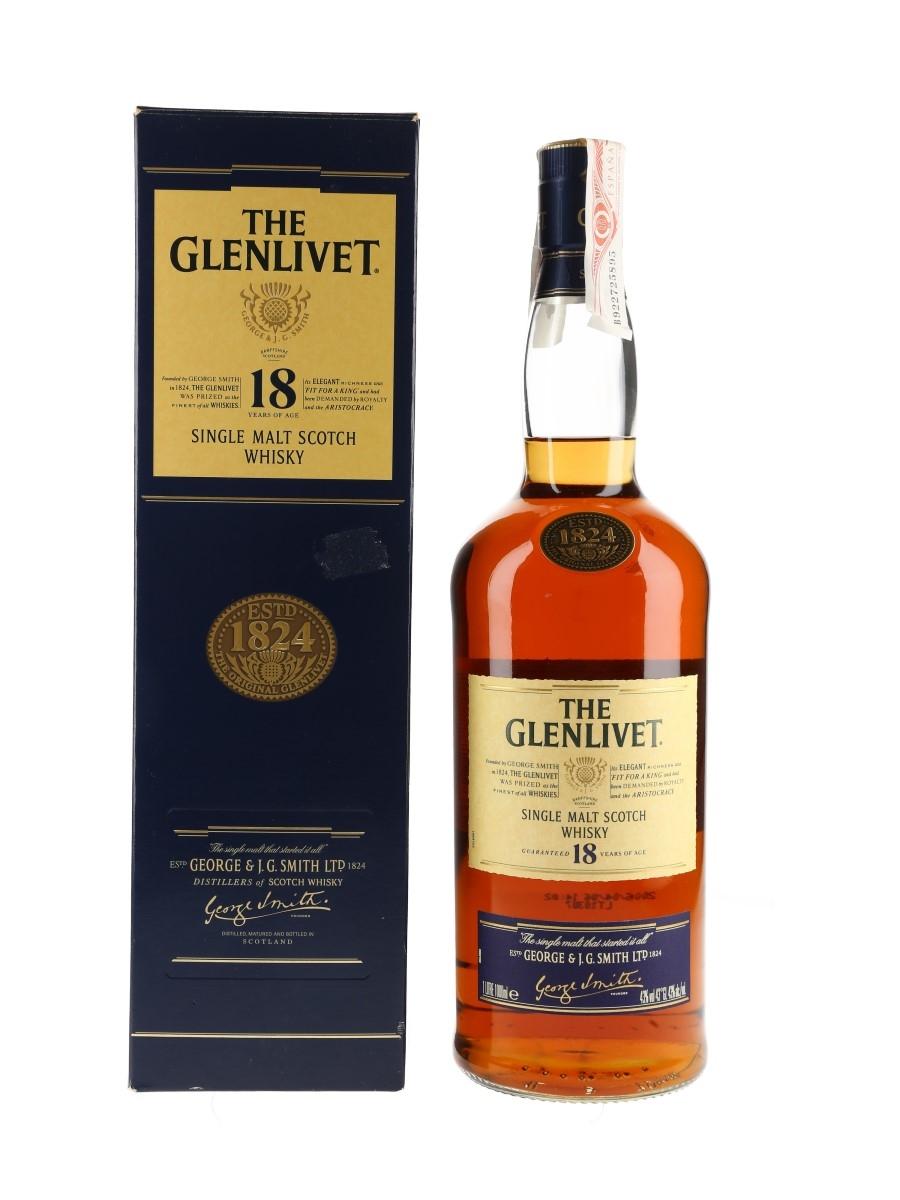 Glenlivet 18 Year Old Bottled 2006 70cl / 43%